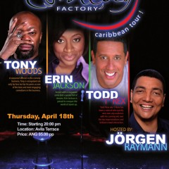 Fundraising: The Comedy Factory