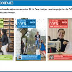 Mooi artikel over ons in het nieuwste projectmagazine van StichtingDoenMooi artikel over ons in het nieuwste projectmagazine van StichtingDoen