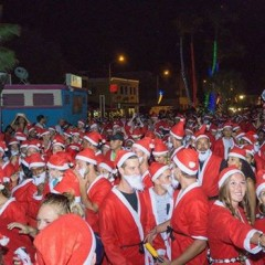 Curacao's Santa Run 2015