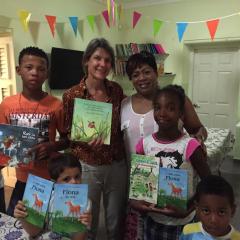 Een bericht van kinderboekenschrijfster Evelien van Dort