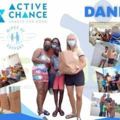ACTIVE CHANCE provided the meals and WINGS OF SUPPORT / KLM for the van.